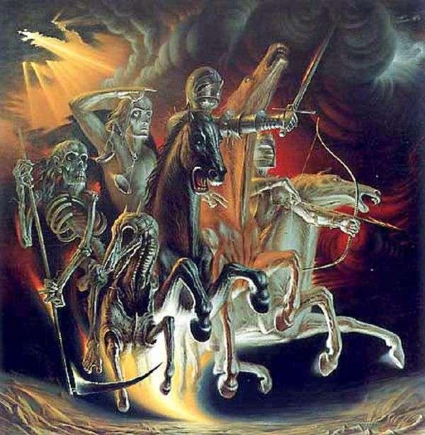 黙示録の4人の騎士   ウラジスラフ・プロヴォトロフ