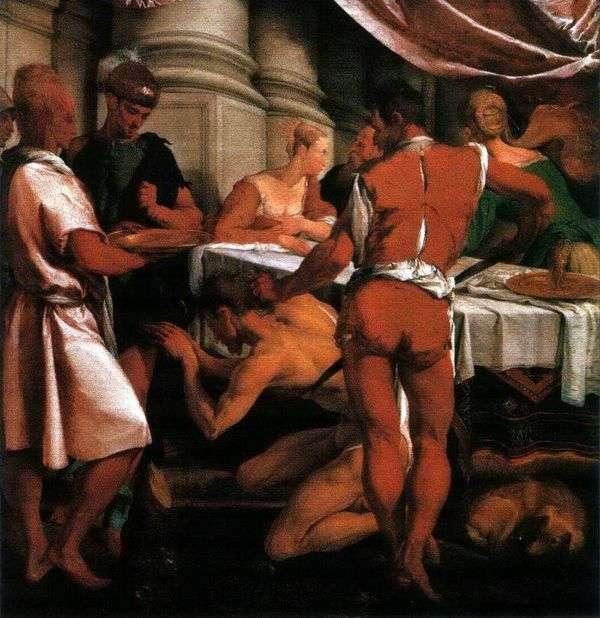 洗礼者ヨハネの処刑   Jacopo Bassano