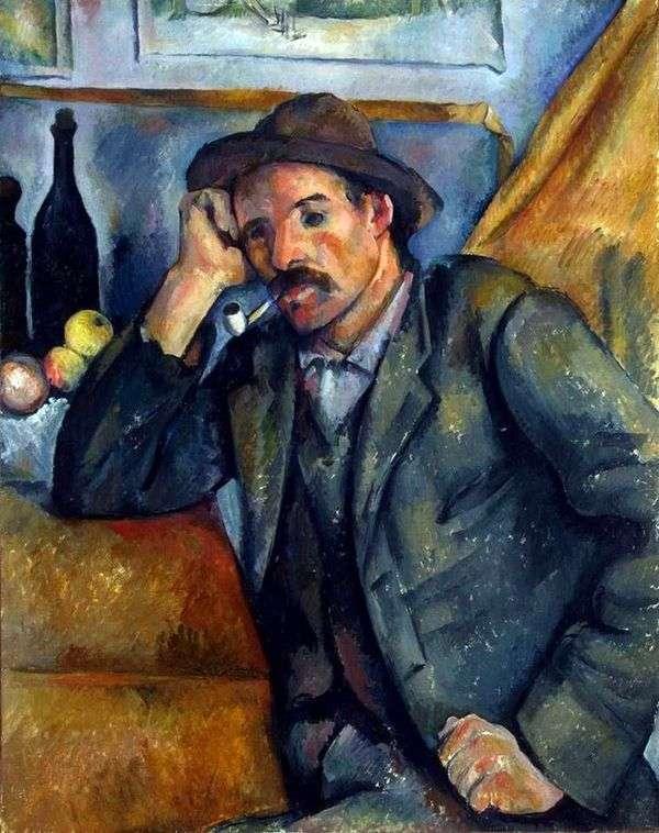 パイプ喫煙者   Paul Cezanne