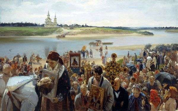 宗教的な行列   Illarion the Pryanishnikov