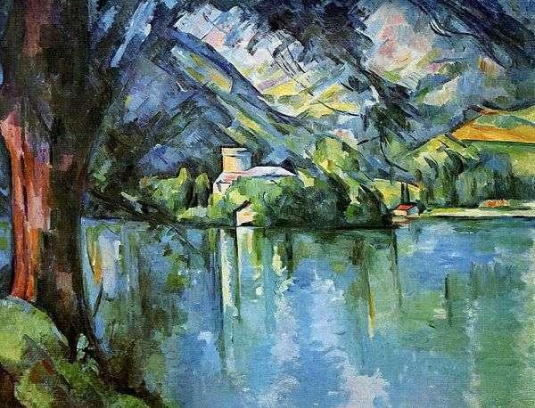アヌシーの海   Paul Cezanne
