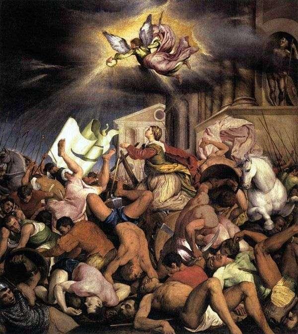 聖カタリナの殉教   ヤコポ・バッサーノ
