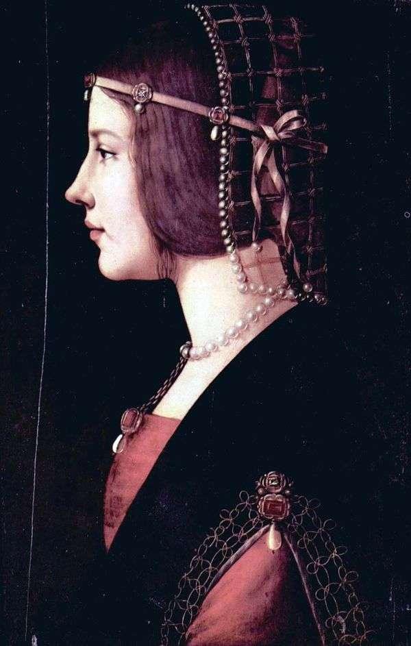 Beatrice dEste   レオナルドダヴィンチの肖像