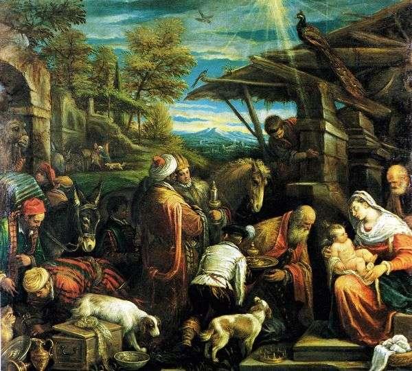 マギの礼拝   Jacopo Bassano