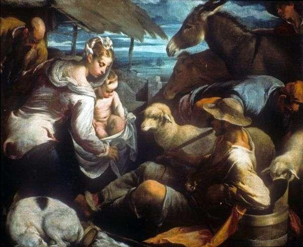 羊飼いの礼拝   Jacopo Bassano
