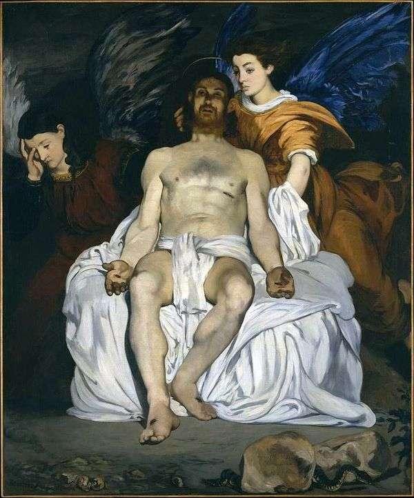 天使とキリスト   エドゥアールマネ