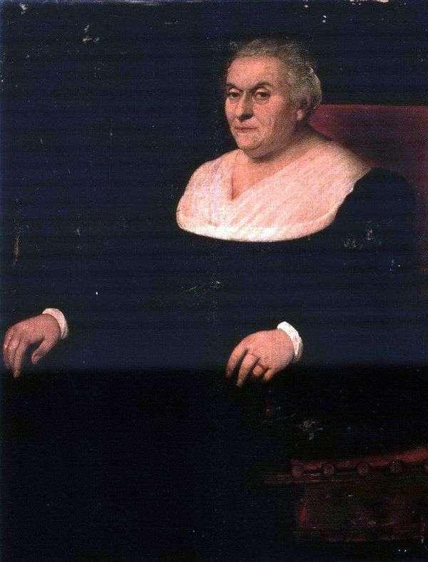 女性の肖像   ヤコポ・バッサーノ