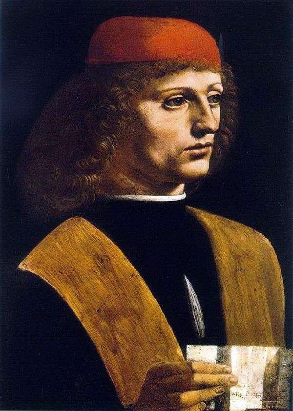 ミュージシャンの肖像   レオナルドダヴィンチ