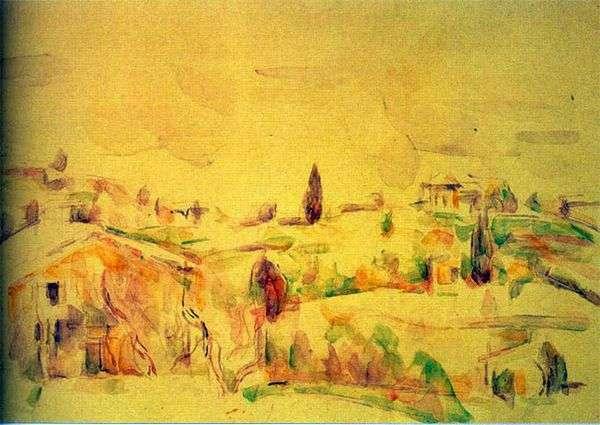 プロヴァンスの風景   Paul Cezanne