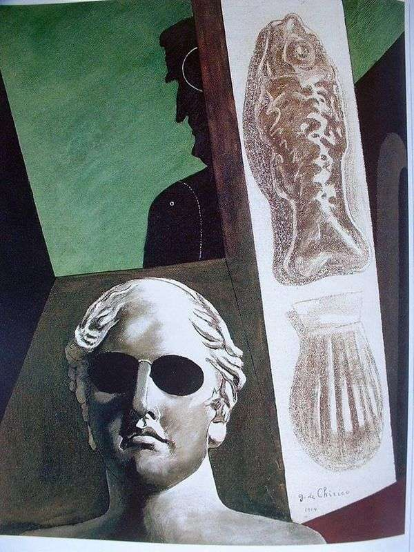 Guillaume Apollinaire   ジョルジョ・デ・キリコの肖像