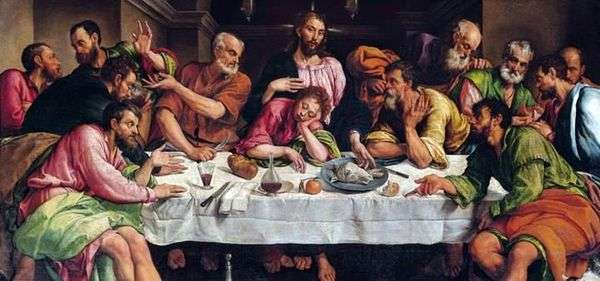 最後の晩餐   Jacopo Bassano