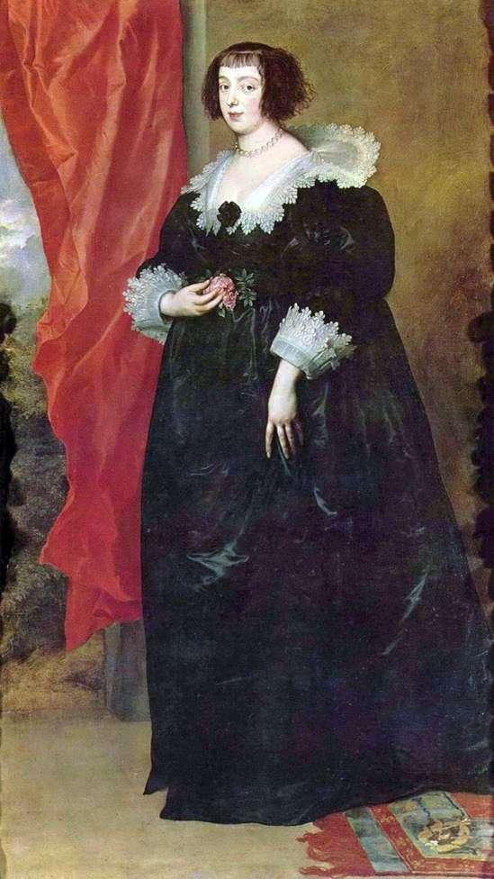 ロレーヌのマーガレット   オーリンズ公爵夫人の肖像   アンソニー・ヴァン・ダイク
