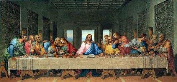 最後の晩餐   Leonardo da Vinci