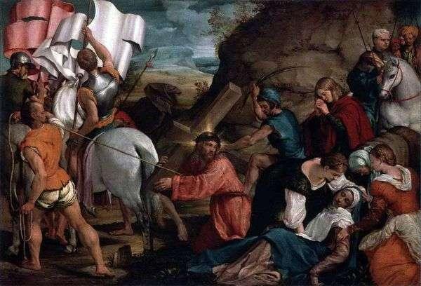 カルバリー行列   Jacopo Bassano