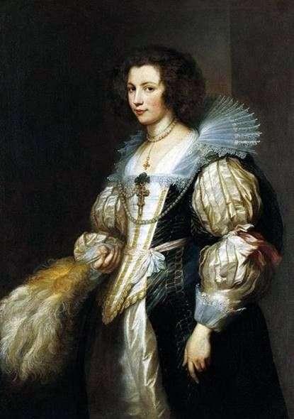 Maria Louise de Tassis   アンソニー・ヴァン・ダイクの肖像