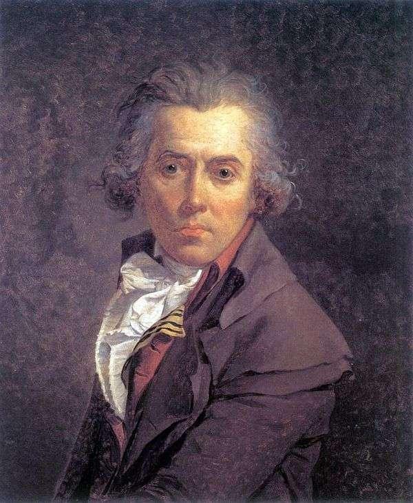 セルフポートレート   Jacques Louis David