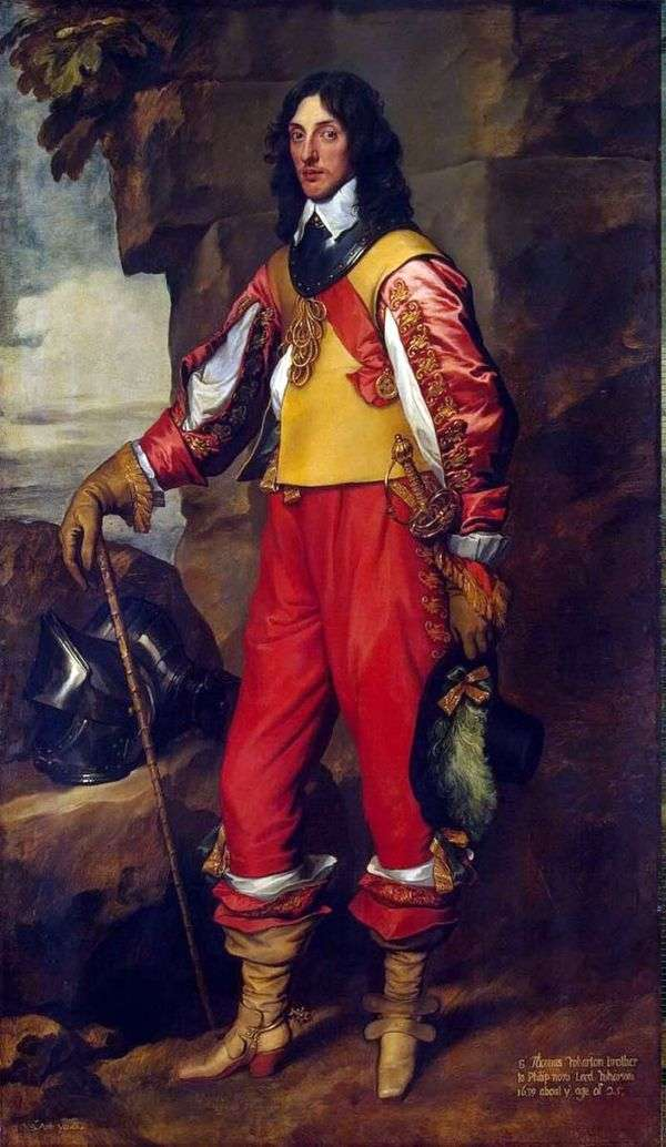 トーマス・ウォートン卿の肖像   アンソニー・ヴァン・ダイク