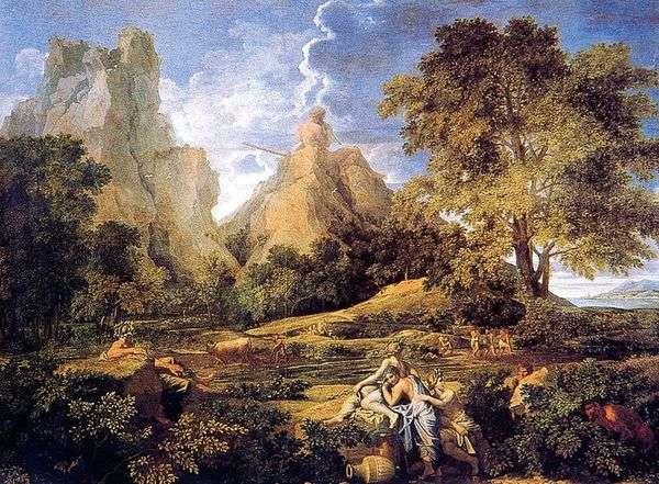 ポリフェムスのある風景   Nicolas Poussin&; nbsp