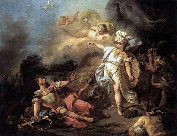ミネルバと火星の戦い   ジャックルイダビデ