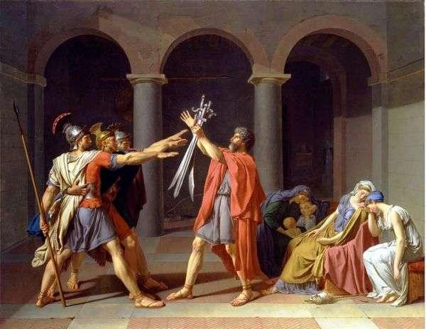 Horatiiの誓い   ジャック・ルイ・ダビデ