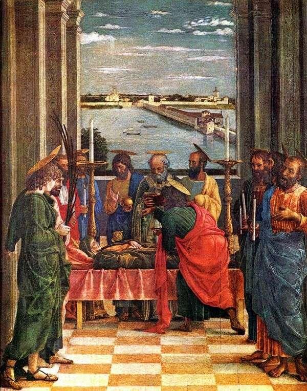 聖母マリアの仮定   アンドレア・マンテーニャ