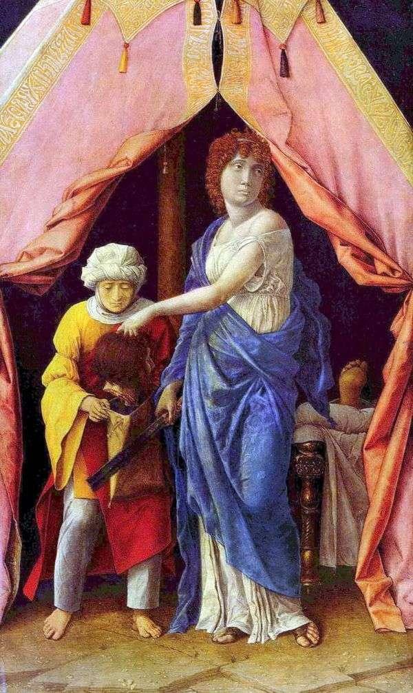 ジュディスとホロフェルネス   Andrea Mantegna