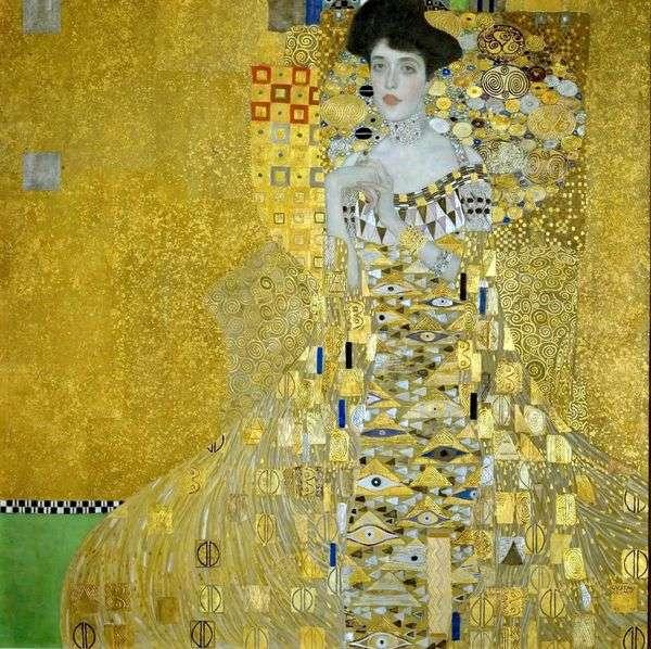 アデルブロッホバウアー   Gustav Klimt