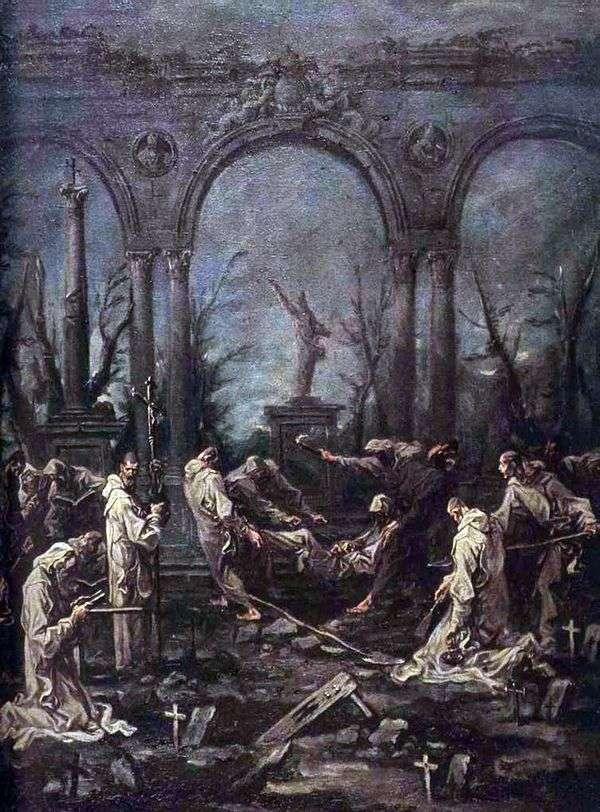 僧侶の葬儀   アレッサンドロ・マグナスコ