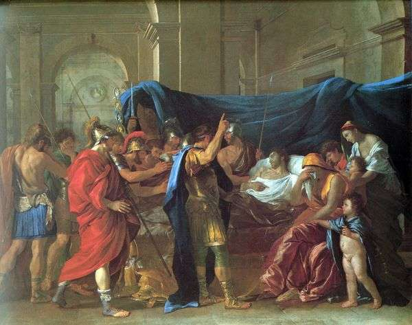 Germanicusの死   Nicolas Poussin