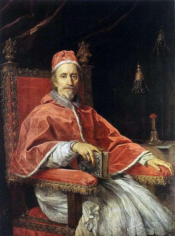 教皇クレメントIX   カルロ・マラッタの肖像