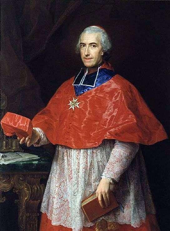 ジャン=フランソワ・ド・ロズシュール枢機卿   ポンペオバトニの肖像画