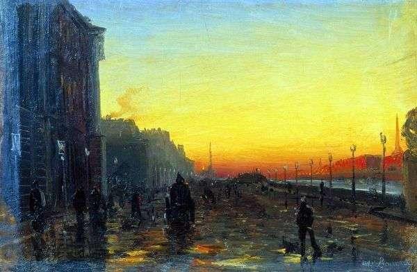 サンクトペテルブルクの夜明け   Fedor Vasilyev