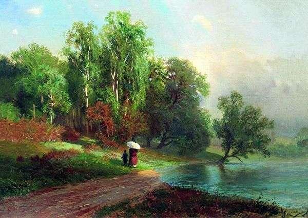 夏 レッドセロ川   Fedor Vasilyevの川