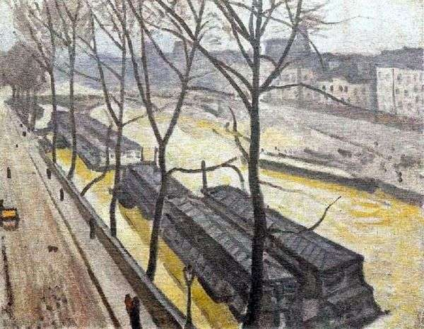 冬のパリ。バーボンキー   アルバートマルケ
