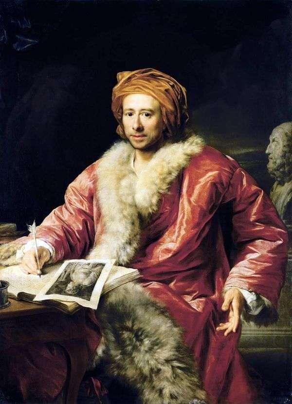 Winckelmann Johann Joachim   Anton von Maronの肖像