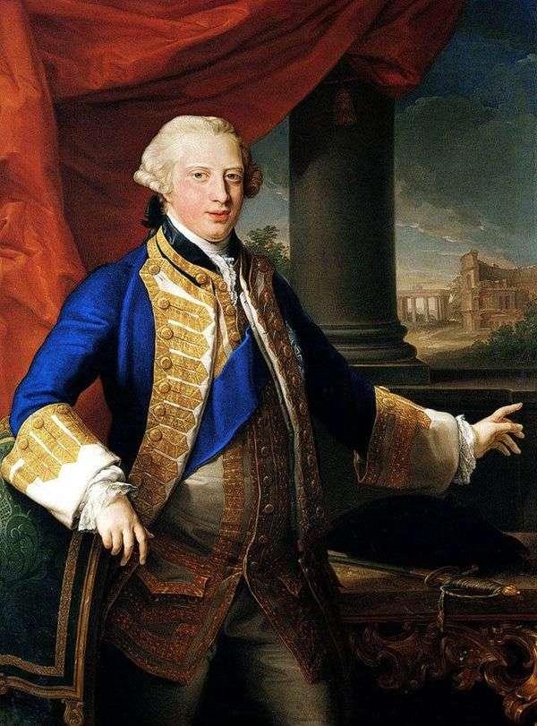 エドワード・アウグストゥス、ヨーク公爵の肖像   Patpeo Batoni