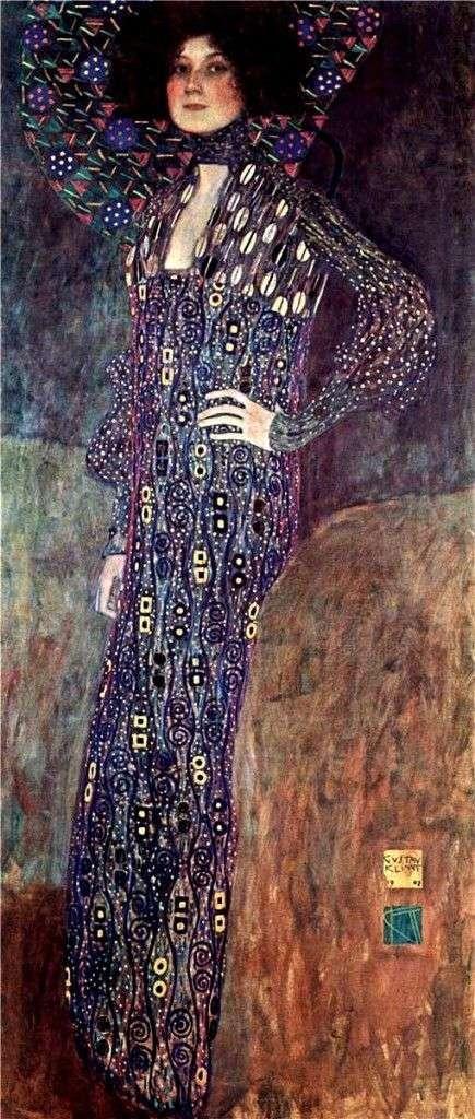 エミリアFlege   グスタフ・クリムトの肖像
