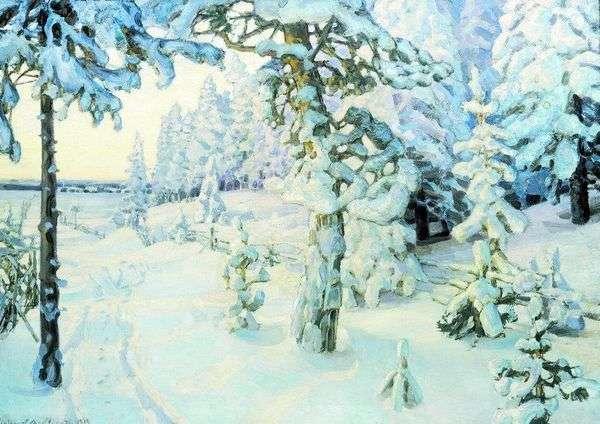 冬の夢   アポリナリーVasnetsov