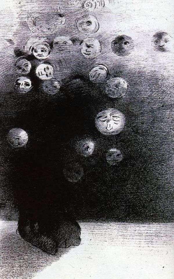 リトグラフ   Odilon Redon