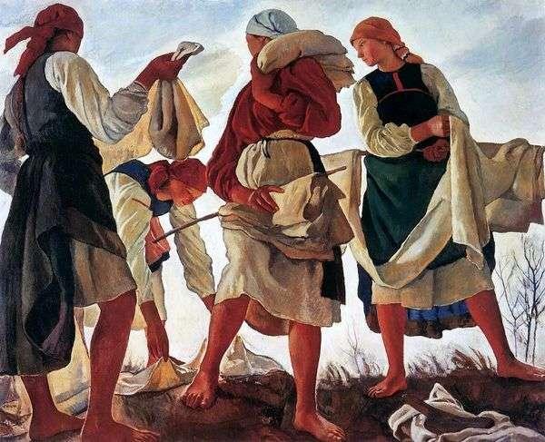 ホワイトニングキャンバス   Zinaida Serebryakova
