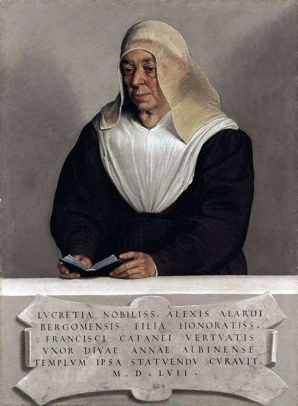 Lucretia Allardi Vertov   Giovanni Battista Moroniの修道院