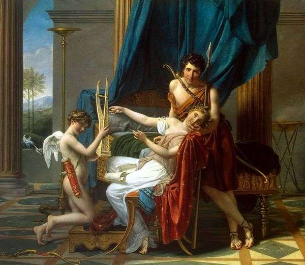Sappho and Phaon   ジャックルイダビデ