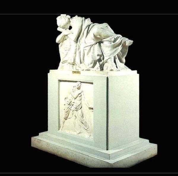Elena Stepanovna Kurakina   Ivan Martosへの墓石