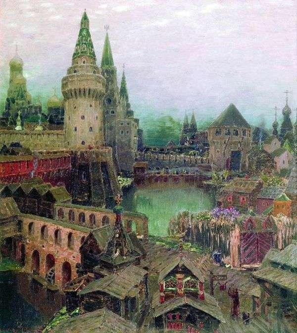 復活橋の夜明けに。17世紀後半   アポリナリー・バスネツォフ