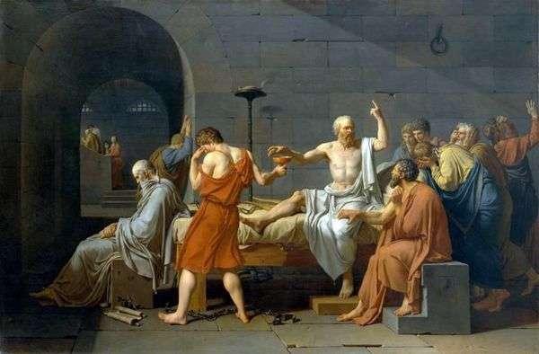 ソクラテスの死   Jacques Louis David