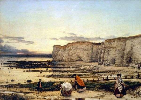 ケントのPiguell Bay   William Dyce