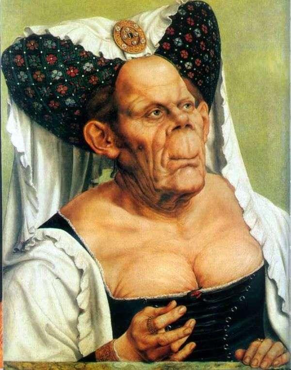 老婦人のグロテスクな肖像画(The Ugly Duchess)   クエンティン・モス