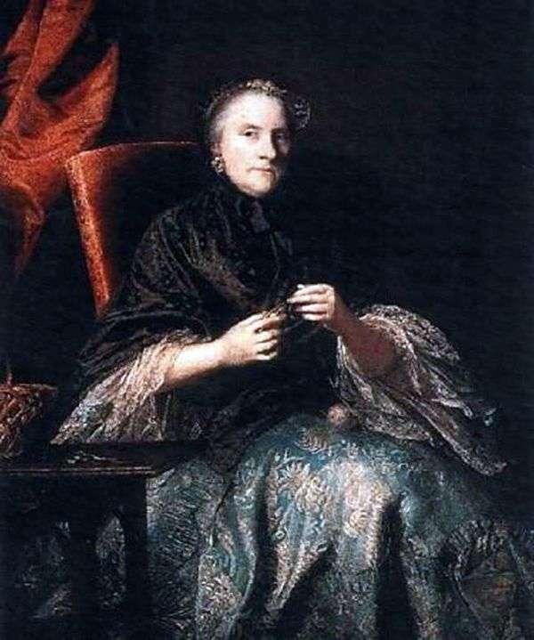 アンナ、オルブマル伯爵夫人   ジョシュア・レイノルズ