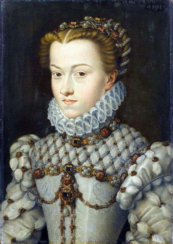 オーストリアのエリザベス王女   Francois Clouet