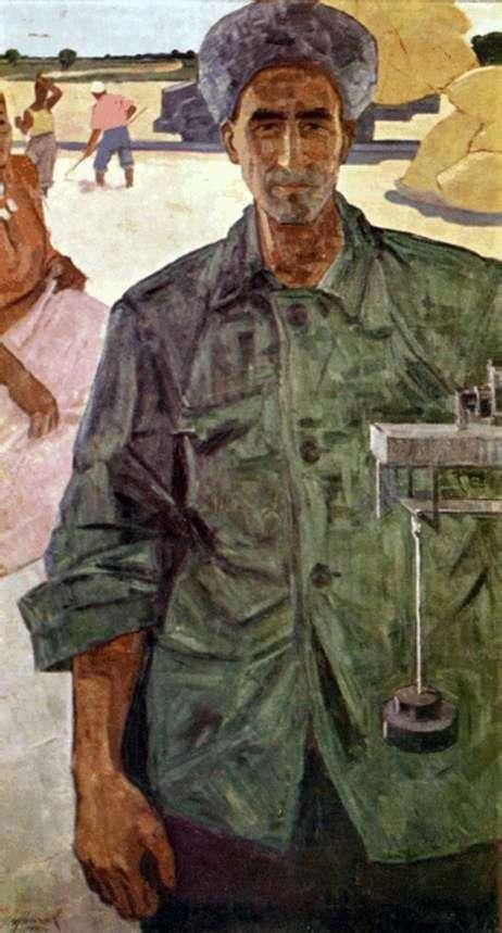 Yazmurad Orazsakhatov   イザット・クリチェフの肖像画
